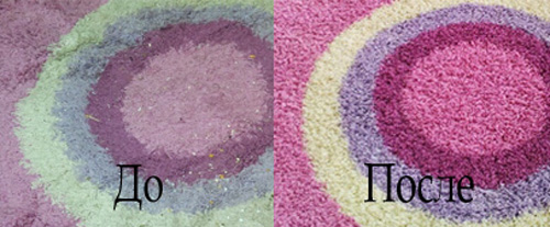 стирка ковров цены